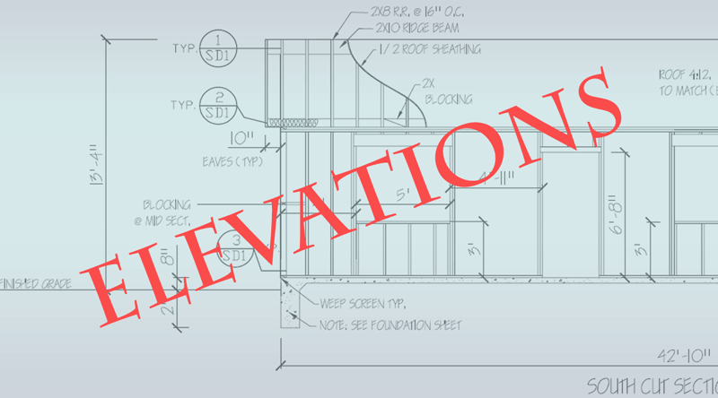 ELEVATION BLUEPRINT IMG